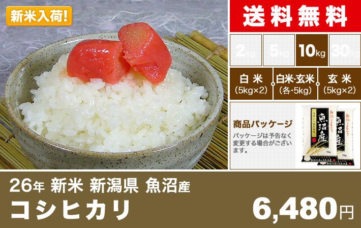 コシヒカリ 魚沼産 関西米穀