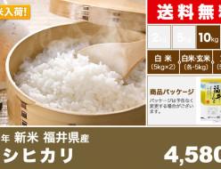 コシヒカリ 福井県 関西米穀
